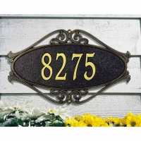 Hackley Fretworks Standard Lawn/Wall Plaque - Whitehall