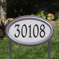 Concord Artisan Stone Estate Wall-Lawn Plaque - Whitehall