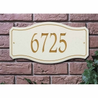 New Amsterdam Standard Wall Plaque - Whitehall