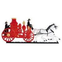 Fire Engine Mailbox Ornament - 2 Colors