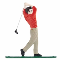 Golfer Mailbox Ornament - 2 Colors
