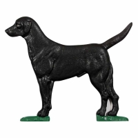 Black Lab Mailbox Ornament - 2 Colors