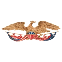 24 inch Patriotic Wall Eagle- Whitehall