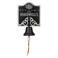 Whitehall Lighthouse Bell Welcome Plaque
