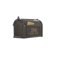 Capital Mailbox Side Plaque Package