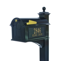 Balmoral Mailbox Side Plaque Package