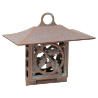 Oak Leaf Suet Feeder - Copper Verdigris