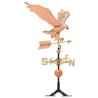 Eagle 58 inch Rooftop Weathervane - Polished