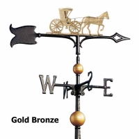 Country Doctor 30 inch Rooftop Weathervane - Whitehall