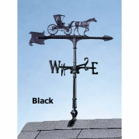 Country Doctor Black 30 inch Rooftop Weathervane - Whitehall