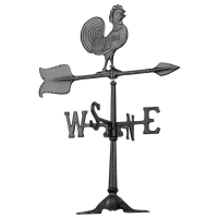 Rooster 24 inch Rooftop Weathervane - Whitehall-QS