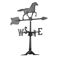Horse 24 inch Rooftop Weathervane - Whitehall-QS