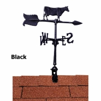Cow 24 inch Rooftop Weathervane - Whitehall