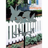 Garden Hummingbird Weathervane - Whitehall