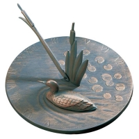 Loon Sundial by Whitehall Products