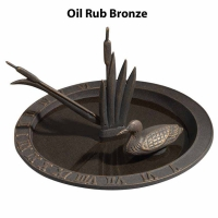 Loon Sundial Birdbath by Whitehall Products
