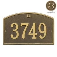 Cape Charles Standard Wall-Lawn Plaque - Whitehall