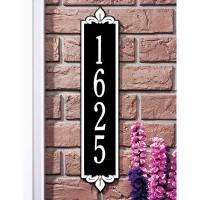 Lyon Vertical Standard/Estate Wall Plaque - Whitehall
