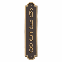 Richmond Vertical Standard Wall Plaque - Whitehall