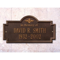 Arlington In Memory Of Standard Wall-Lawn Plaque - Whitehall