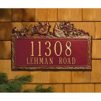 Woodland Cardinal Standard Wall Plaque - Whitehall