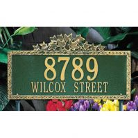 Ivy Standard Wall-Lawn Plaque - Whitehall