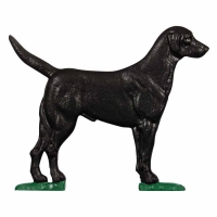Black Lab 30 inch Rooftop Weathervane - Whitehall