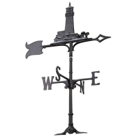 Lighthouse 30 inch Rooftop Weathervane - Whitehall