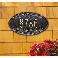 Ivy Oval Standard Wall Plaque - Whitehall