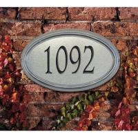 Concord Artisan Metal Wall-Lawn Plaque - Whitehall