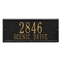Mailbox Personalized Side Panel - Whitehall