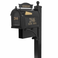 Ultimate Capital Mailbox Package - Whitehall