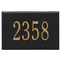 Wall Mailbox Personalized Plaque - Whitehall
