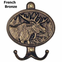 Moose Hook Plaque by Whitehall Products