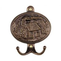 Cabin Hook Plaque - Whitehall