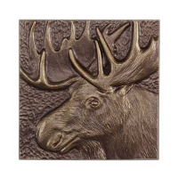Moose Wall Decor by Whitehall Products