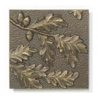 Whitehall Oakleaf Wall Plaque Decor