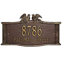 Paloma Standard Wall-Lawn Plaque - Whitehall