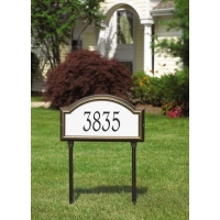 Providence Arch Reflective Standard Wall-Lawn Plaque - Whitehall